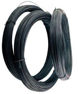 Проволока вязальная черная диаметром 1 мм